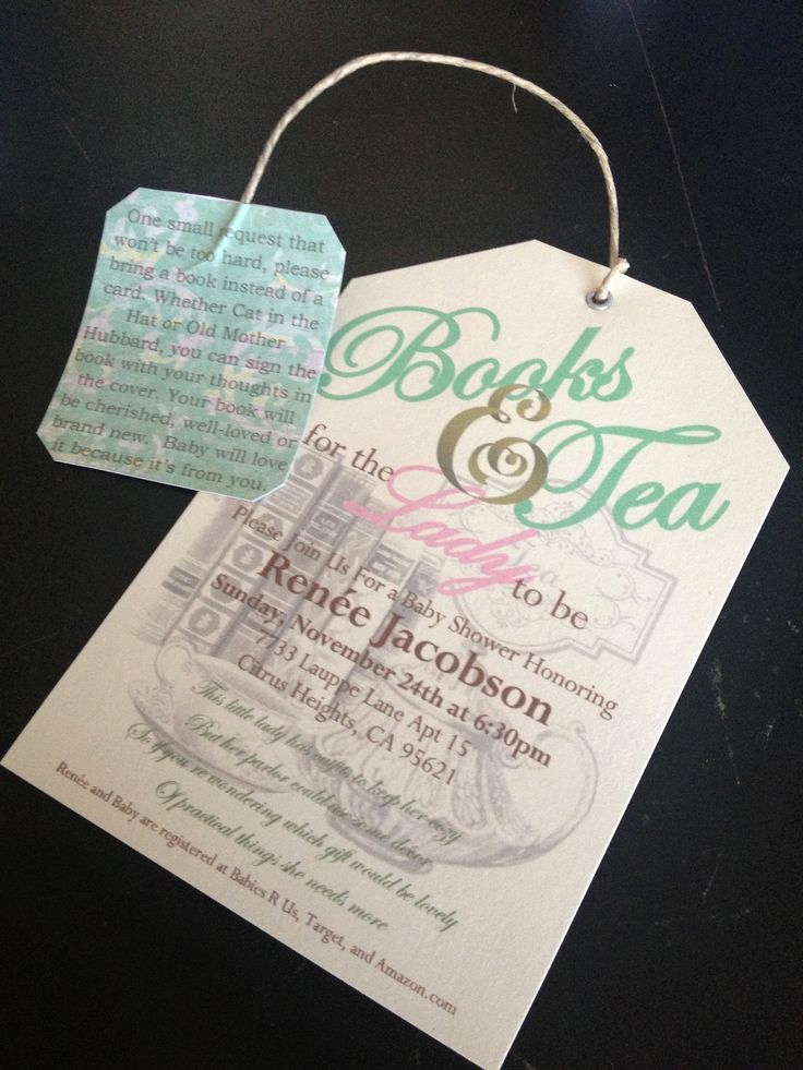 Tea Bag Invitation Template Unique Best 25 Tea Party Invitations Ideas Only On Pinterest