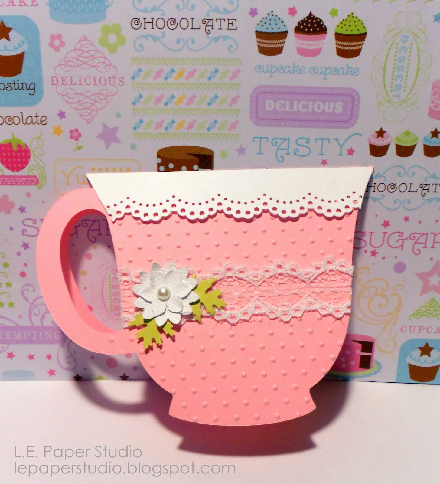 Tea Cup Invitation Template Lovely L E Paper Studio Birthday Teacup Invitation