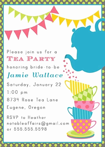 Tea Cup Invitation Template New 43 Best Images About Koffiepotten On Pinterest