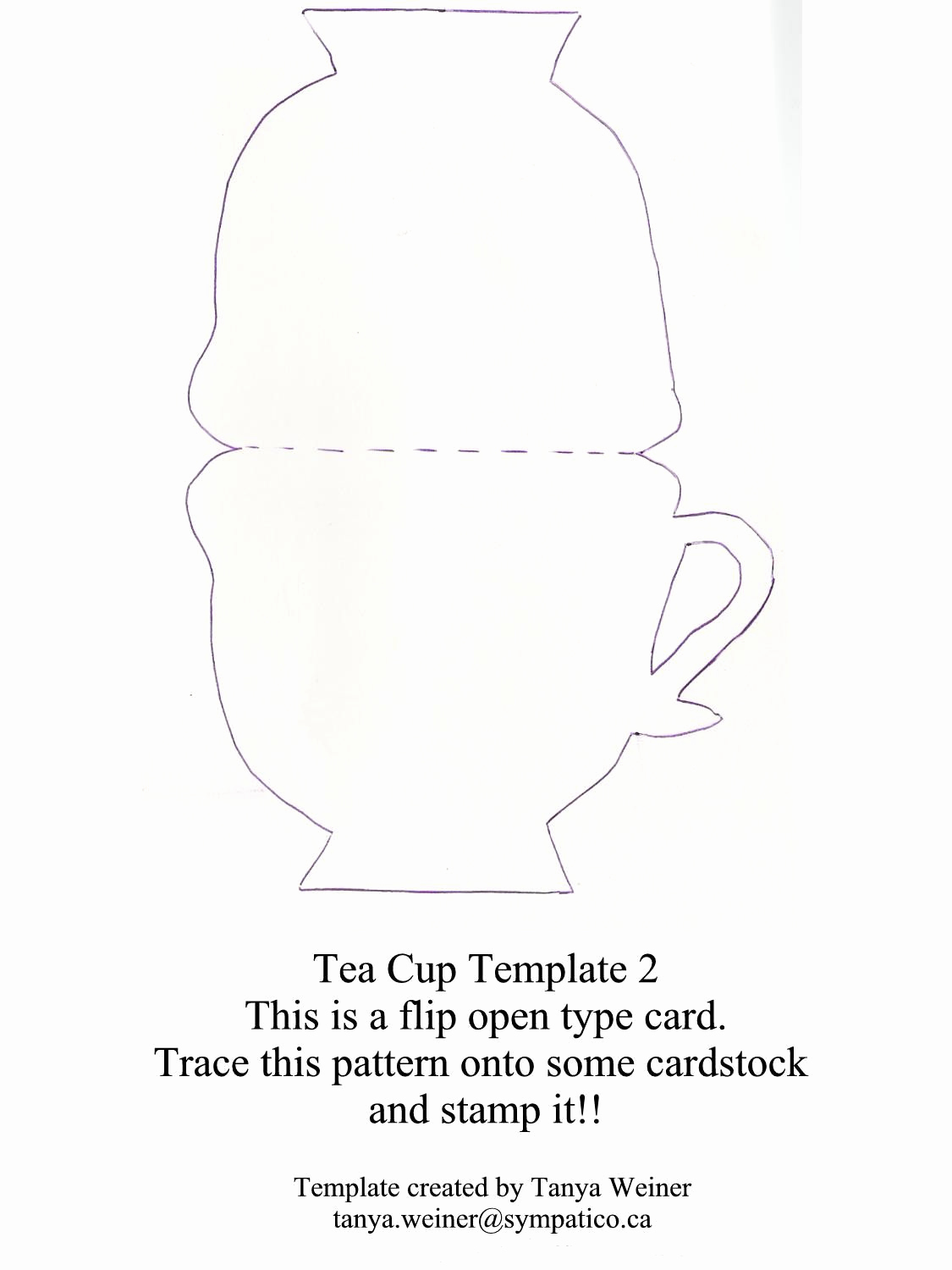 Tea Cup Invitation Template Unique Taza De Té Tarjeta Tea Cup Card Moldes