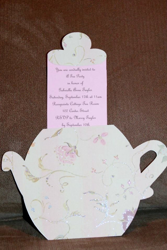 Tea Party Invitation Ideas Best Of the 25 Best Tea Party Invitations Ideas On Pinterest