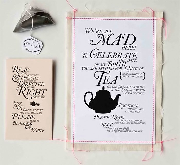 Tea Party Invitation Ideas Fresh 83 Best Images About M Invites to the Mad Hatter Tea