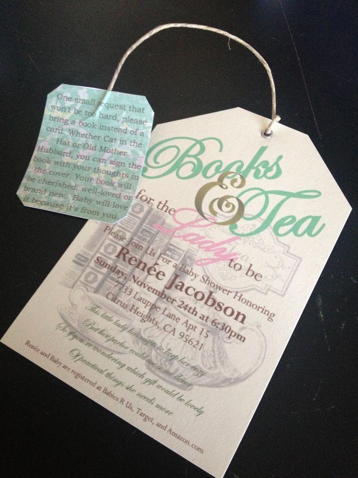 Tea Party Invitation Ideas Fresh Baby Shower Invitations Tea Party Party Xyz