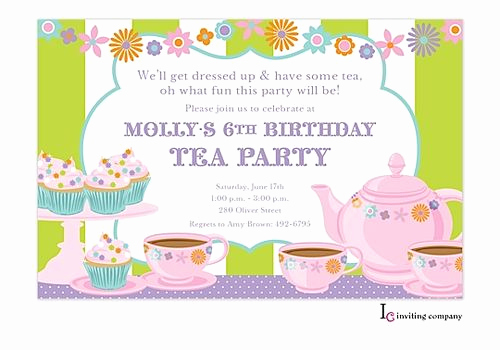 Tea Party Invitation Ideas Luxury 43 Best Children S Party Images On Pinterest