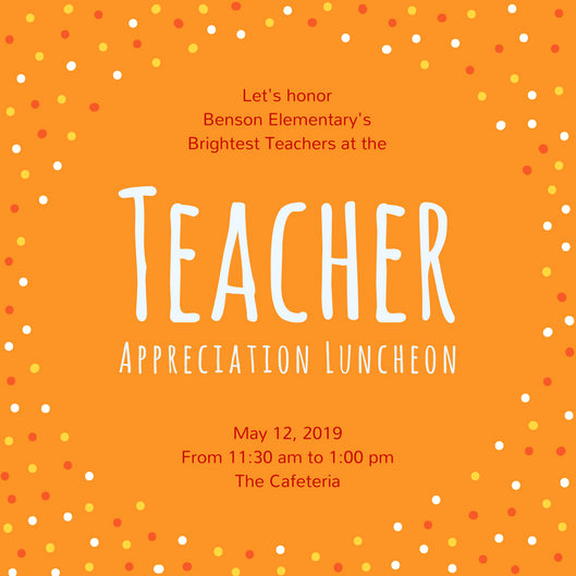 Teacher Appreciation Lunch Invitation Wording Beautiful Luncheon Invitation Templates Canva