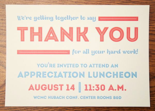 Teacher Appreciation Lunch Invitation Wording Inspirational Appreciation Luncheon Invitation by Brian Hodges Via