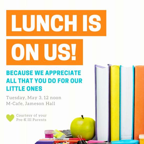 Teacher Appreciation Lunch Invitation Wording Lovely Customize 73 Luncheon Invitation Templates Online Canva