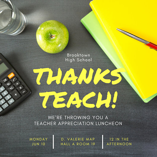 Teacher Appreciation Luncheon Invitation Wording Awesome Luncheon Invitation Templates Canva