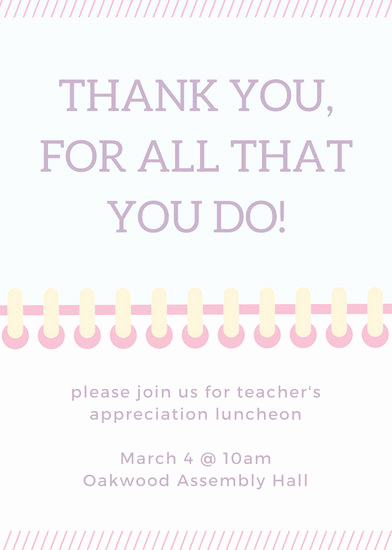 Teacher Appreciation Luncheon Invitation Wording Beautiful Luncheon Invitation Templates Canva