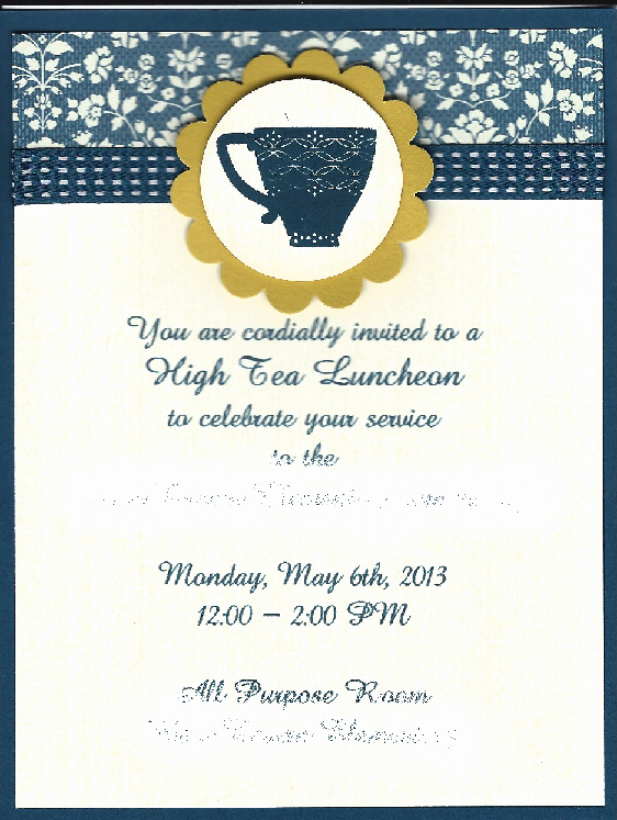 Teacher Appreciation Luncheon Invitation Wording Fresh High Tea Invitation for Elementary School Teacher
