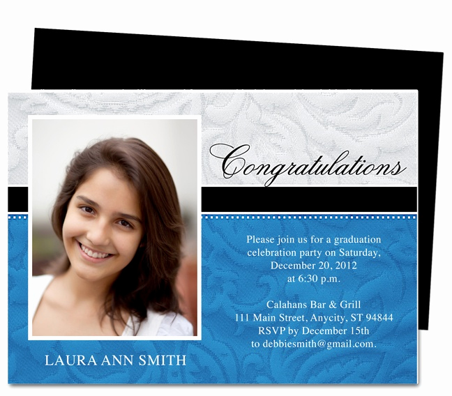 Template for Graduation Invitation Fresh 1000 Images About Printable Diy Graduation Announcements