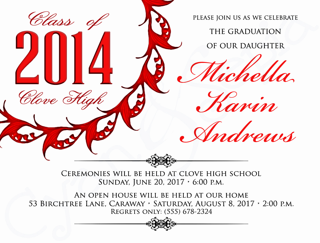 Template for Graduation Invitation Inspirational Graduation Invite Templates Free