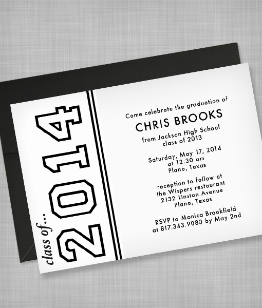 Template for Graduation Party Invitation Luxury High School Graduation Invitation Template – Download & Print