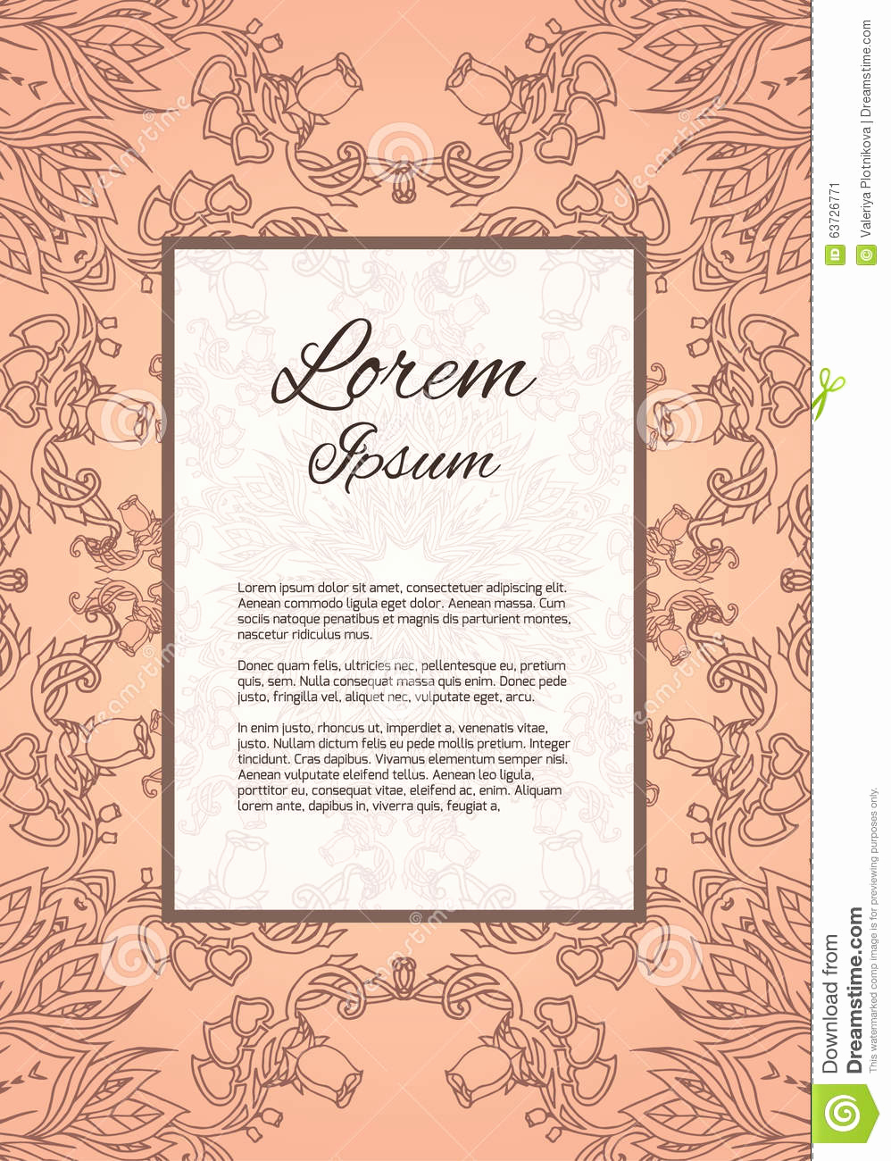 Thank You Letter for Invitation Lovely Template Thank You Letter Invitation Cover Stock Vector