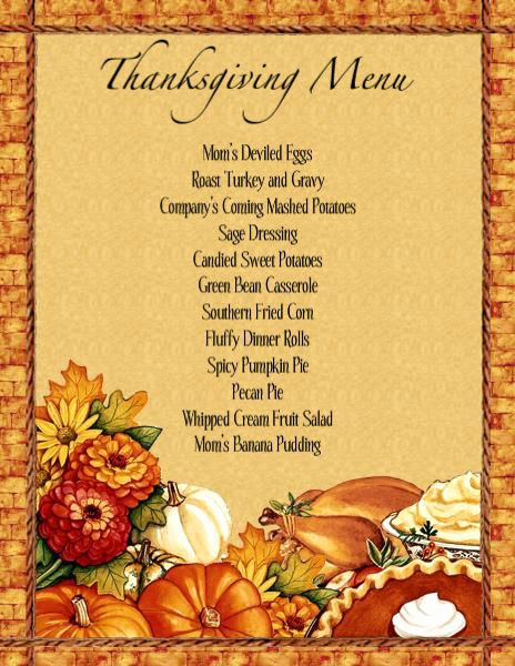 Thanksgiving Invitation Templates Free Word Beautiful Menu Templates Free Download Thanksgiving