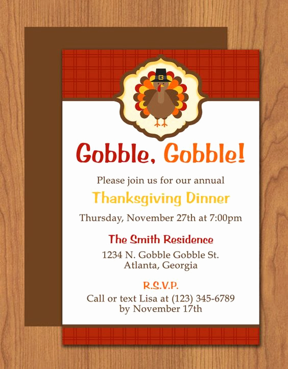 Thanksgiving Invitation Templates Free Word Beautiful Pinterest • the World's Catalog Of Ideas