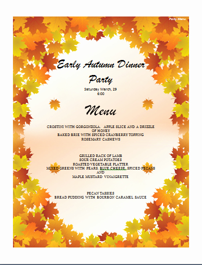 Thanksgiving Invitation Templates Free Word Lovely Menu Templates Archives Microsoft Word Templates