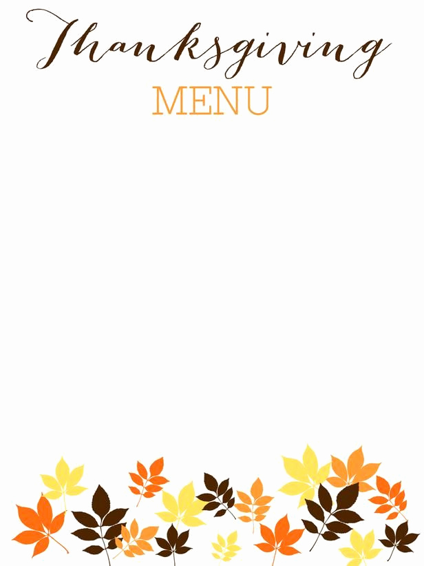 Thanksgiving Invitation Templates Free Word Luxury 31 Printable and Free Thanksgiving Templates