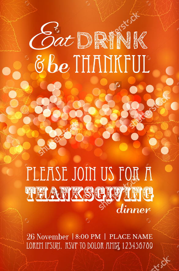Thanksgiving Invitation Templates Free Word Unique Thanksgiving Menu Template 28 Free Psd Eps format