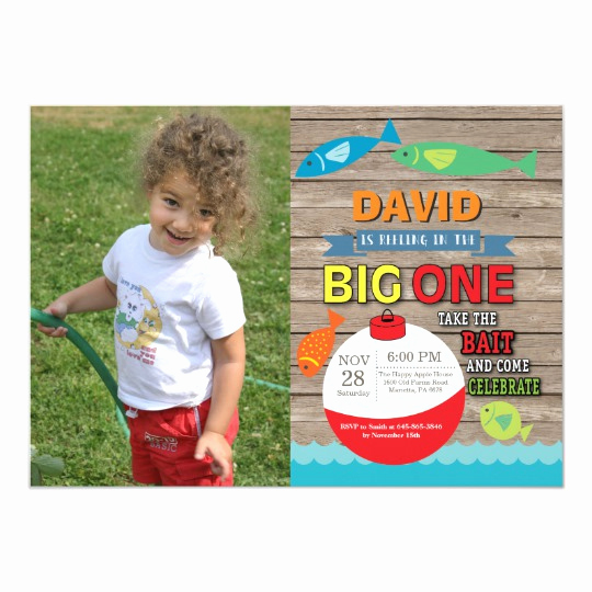 The Big One Birthday Invitation Best Of Fishing First Birthday Invitation Big E Rustic