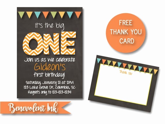 The Big One Birthday Invitation Best Of It S the Big E First Birthday Boy Party Invitation