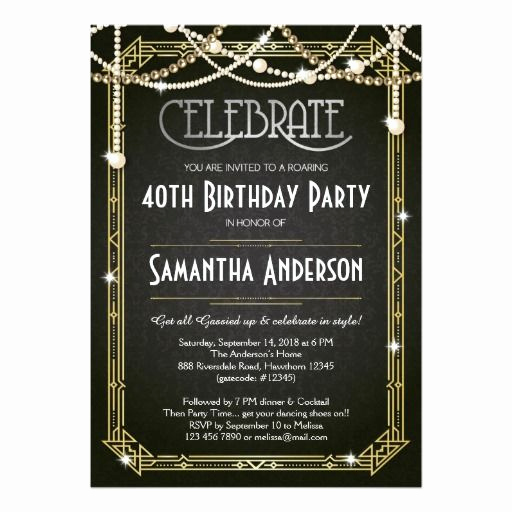 The Great Gatsby Invitation Fresh 25 Best Ideas About Great Gatsby Invitation On Pinterest