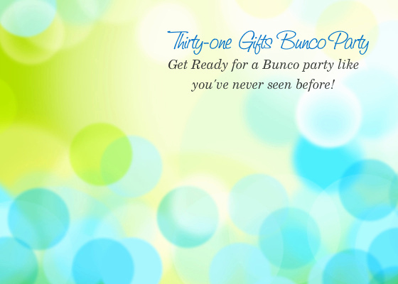 Thirty One Party Invitation Fresh Thirty One Ts Bunco Party Line Invitations & Cards