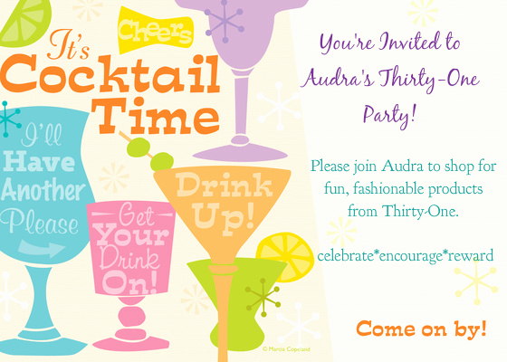 Thirty One Party Invitation Wording Awesome Audra S Thirty E Party Line Invitations & Cards by