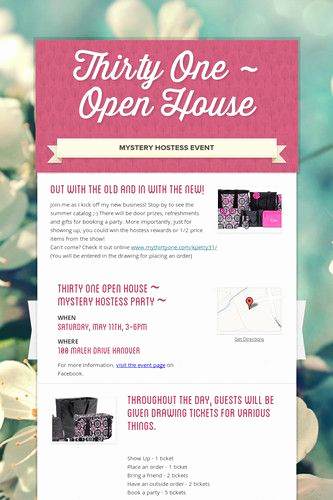 Thirty One Party Invitation Wording Best Of 17 Best Ideas About Thirty E Hostess On Pinterest