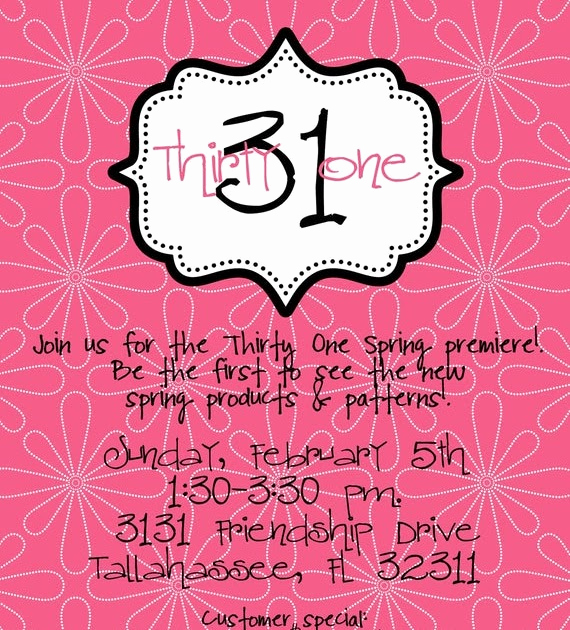 Thirty One Party Invitation Wording Fresh Beach totes Thirty E Party Invitation Wording