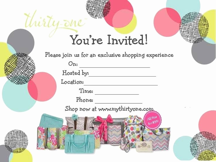 Thirty One Party Invitation Wording Unique who Will You Invite Thirty E Pinterest
