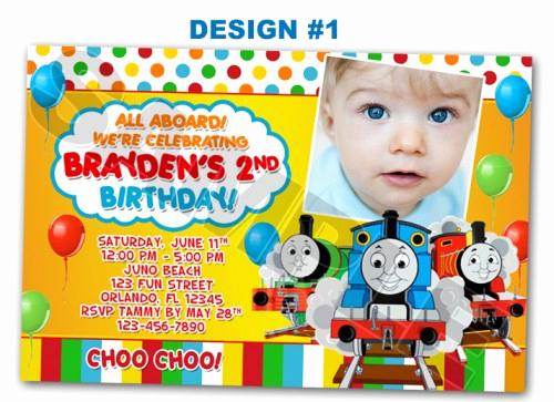 Thomas the Train Invitation Template Lovely Train Birthday Party Invitations Ideas – Free Printable