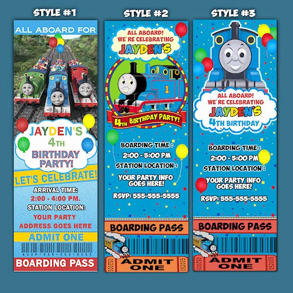 Thomas the Train Invitation Template Unique Best 326 Thomas the Train theme Birthday Party Images On