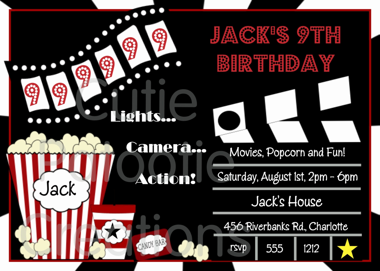Ticket Invitation Template Free New Free Movie Ticket Invitation Template Free Excel Template
