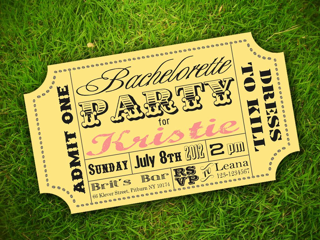 Ticket Invitation Template Free Unique Free Carnival Ticket Template Download Free Clip Art