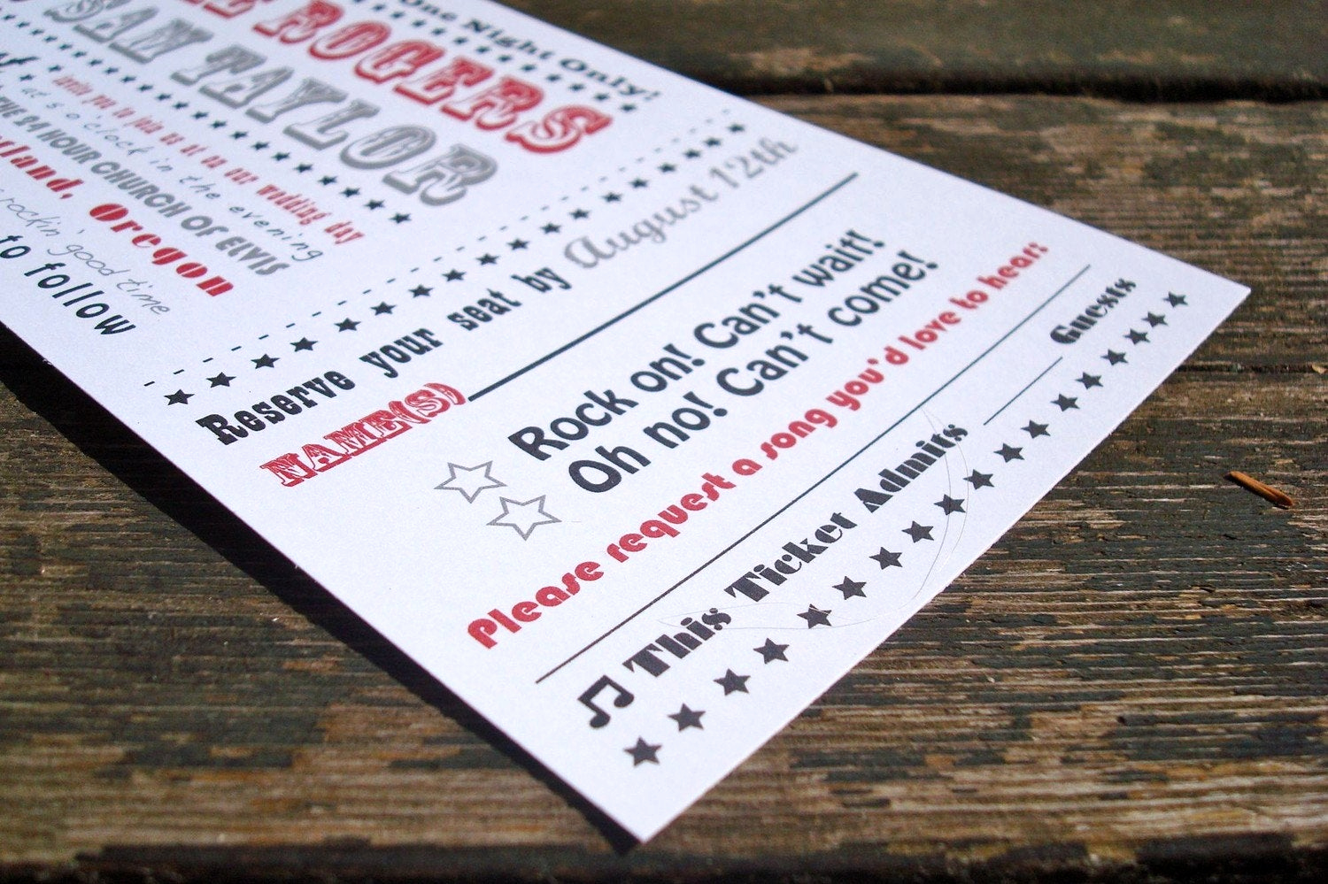 Ticket Invitation Templates Free Awesome Concert Ticket Wedding Invitation Sample Pack Free