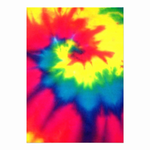 Tie Dye Invitation Template Free Beautiful Personalized Dye Invitations
