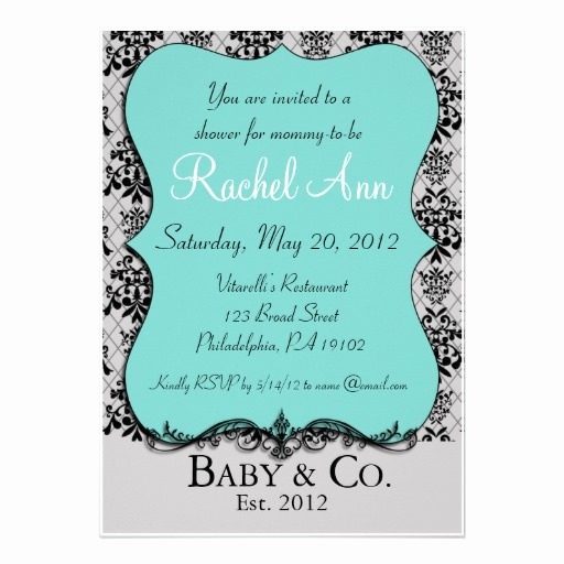Tiffany and Co Invitation Template New 204 Best Images About Tiffany and Pany Baby Shower On