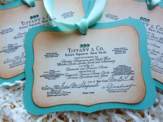 Tiffany and Co Invitation Template New Tiffany and Co Certificate Of Authenticity and