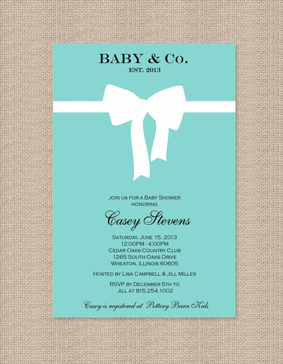 Tiffany Baby Shower Invitation Awesome Unavailable Listing On Etsy