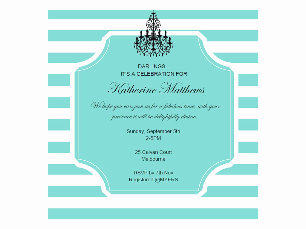 Tiffany Baby Shower Invitation Lovely Editable Tiffany Invitations Magical Printable