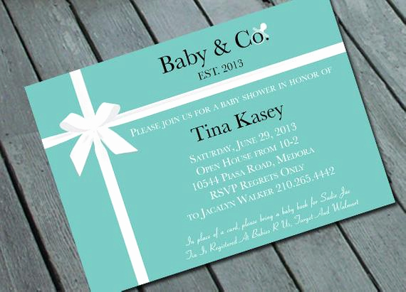 Tiffany Baby Shower Invitation Lovely Unavailable Listing On Etsy