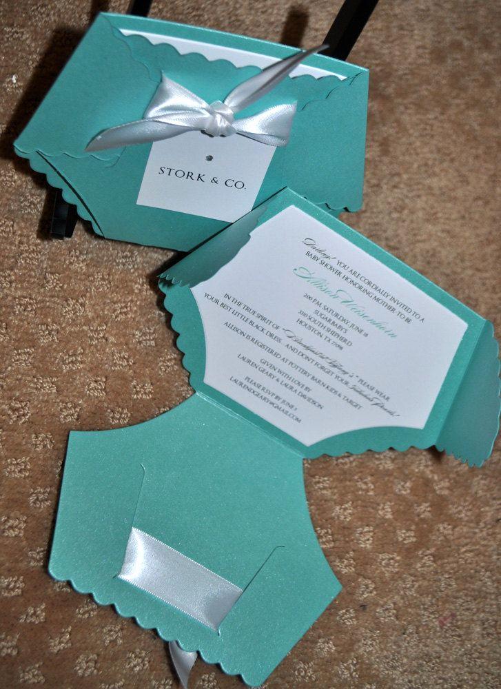 Tiffany Blue Baby Shower Invitation Elegant Tiffany Blue Baby Shower Invites Party Xyz