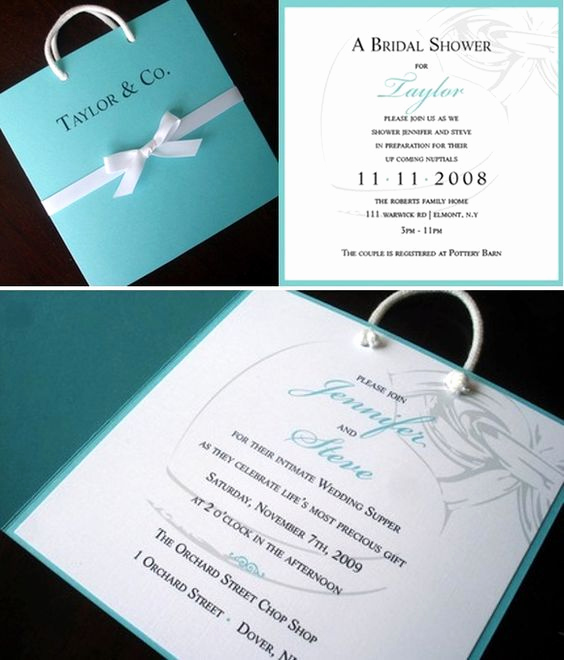 Tiffany Blue Baby Shower Invitation New 1000 Ideas About Tiffany Wedding Invitations On Pinterest