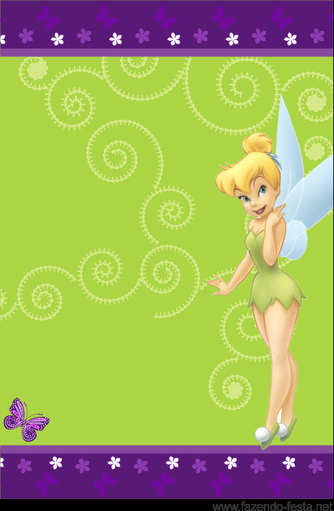 Tinkerbell Invitation Template Free Beautiful Tinkerbell Free Printable Mini Kit Oh My Fiesta In English
