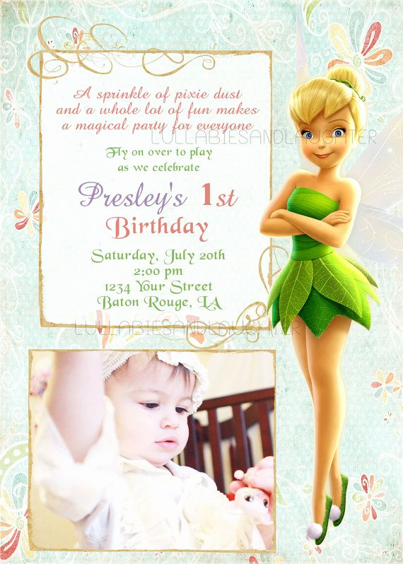 Tinkerbell Invitation Template Free Elegant Best 25 Tinkerbell Invitations Ideas On Pinterest