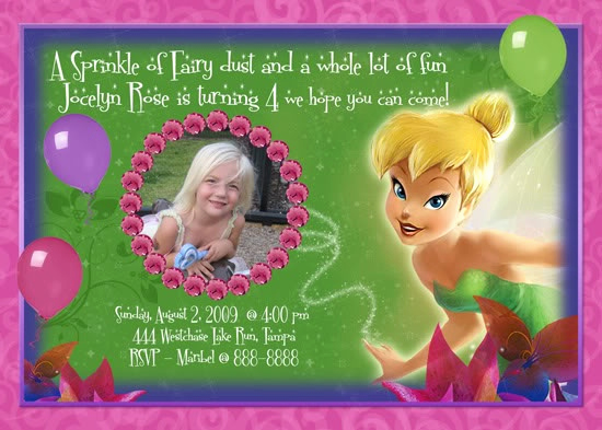 Tinkerbell Invitation Template Free Inspirational 54 Best Tinkerbell Party 2 Images On Pinterest