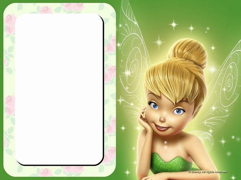 Tinkerbell Invitation Template Free Lovely Invitaciones Para Imprimir Gratis De Campanilla O