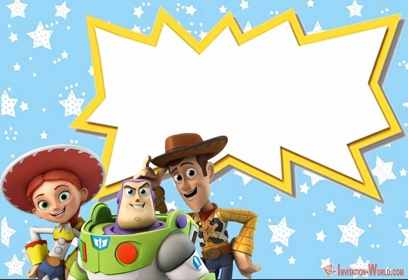 Toy Story Invitation Template Awesome toy Story Invitations – Free Download
