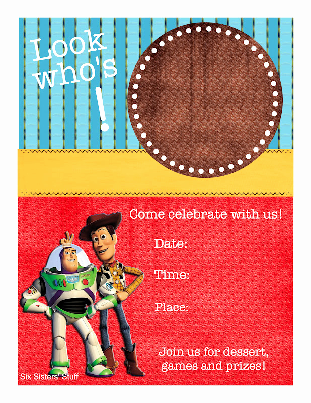 Toy Story Invitation Template Download Beautiful toy Story themed Birthday Party with Printables Six